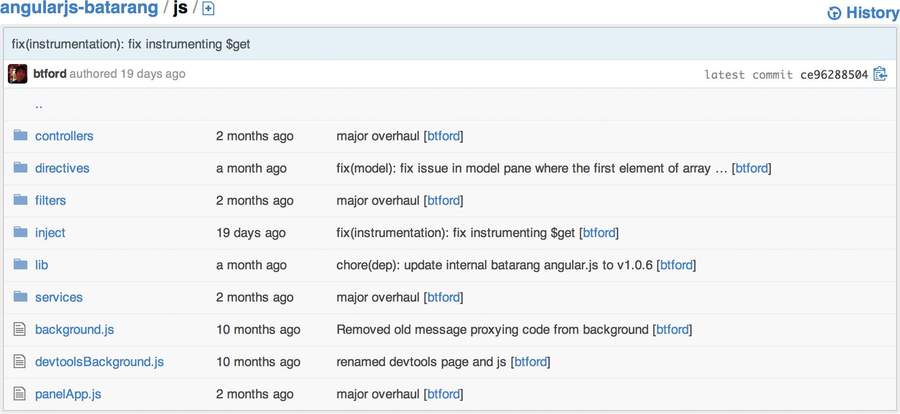 first baby steps angular js bad organization