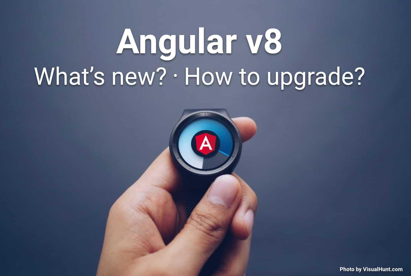 Update to Angular Version 8 now! | juri dev