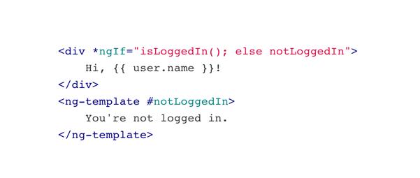 Enhanced *ngIf and *ngFor in Angular version 4.0.0