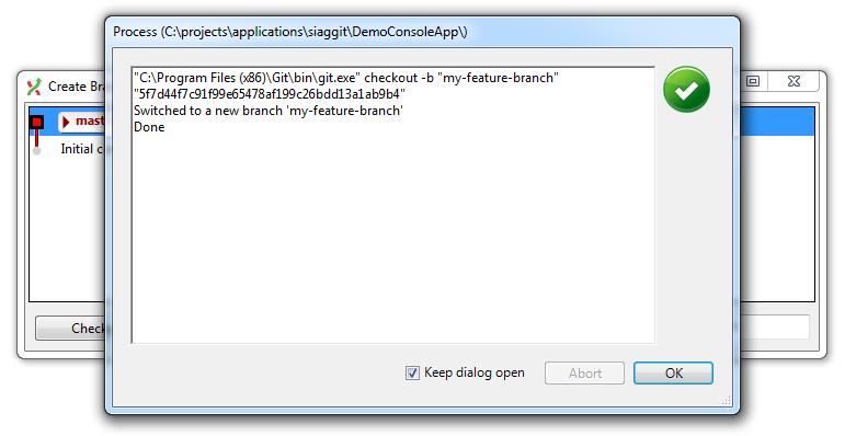 how to delete branch git visual studio